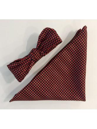 Комплект бабочка и платок