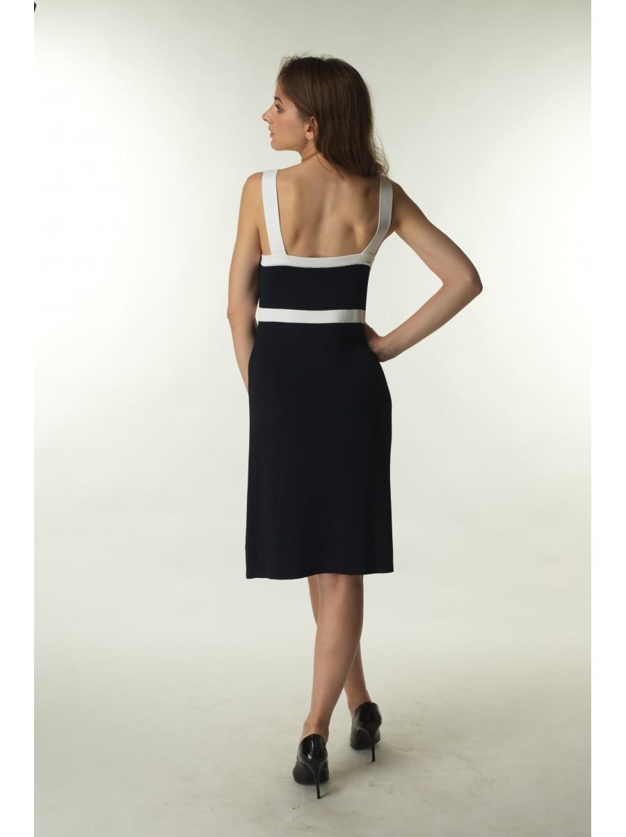 Платье Carotina синий