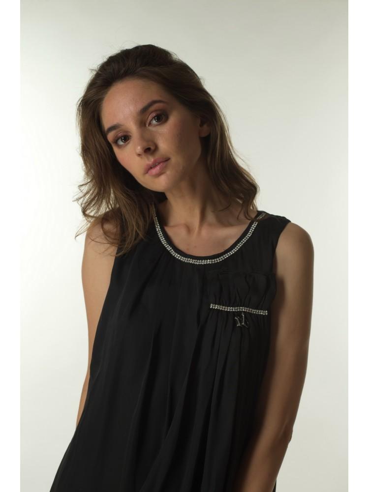Платье ROCCOBAROCCO, черного цвета, 0110502