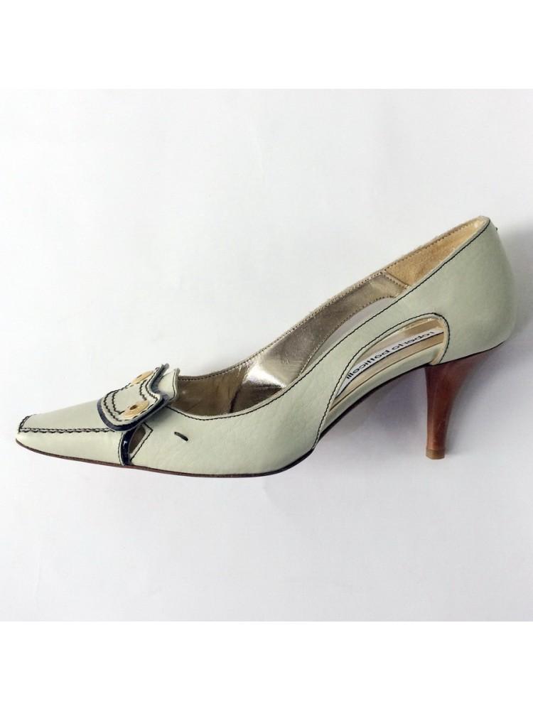 Туфли из натуральной кожи с боковыми вырезами LUISA SPAGNOLI 0710906