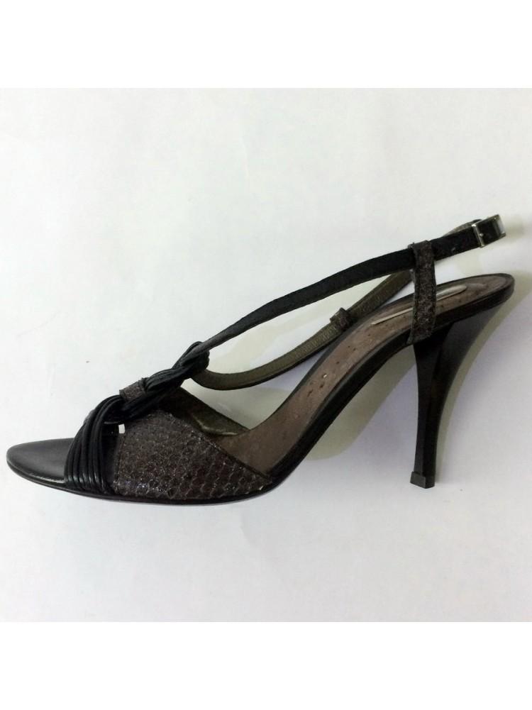 Босоножки DINO BIGIONI из натуральной кожи, каблук пластиковый, 0703766