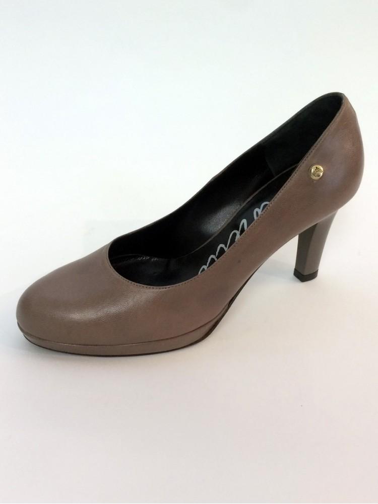 Классические туфли изкожи снаружи и внутри, подошва с профилактикой 41472640-мокко