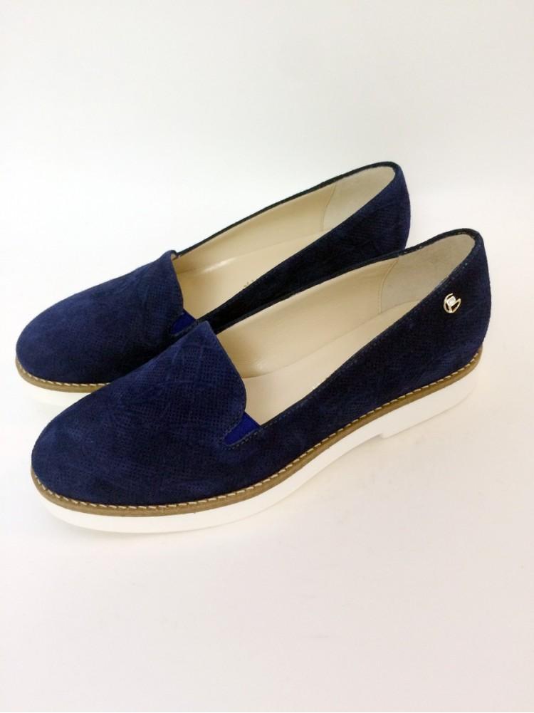 Замшевые туфли 943-элекрик, эксклюзивная ограниченная серия GIORGIO Piergentili