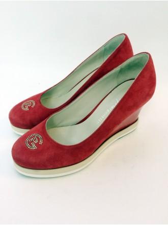 туфли 263-красный