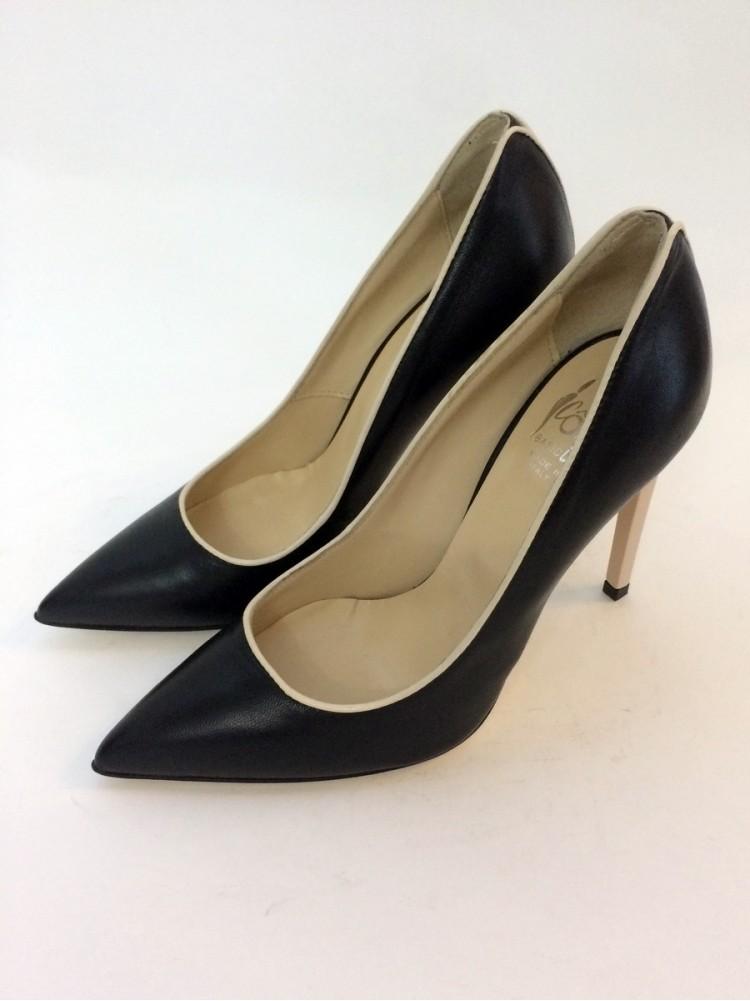 Туфли классические Icone 9018-черный, каблук 11 см