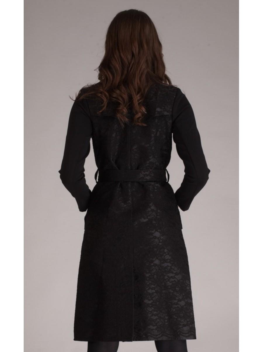 Плащ-платье Black