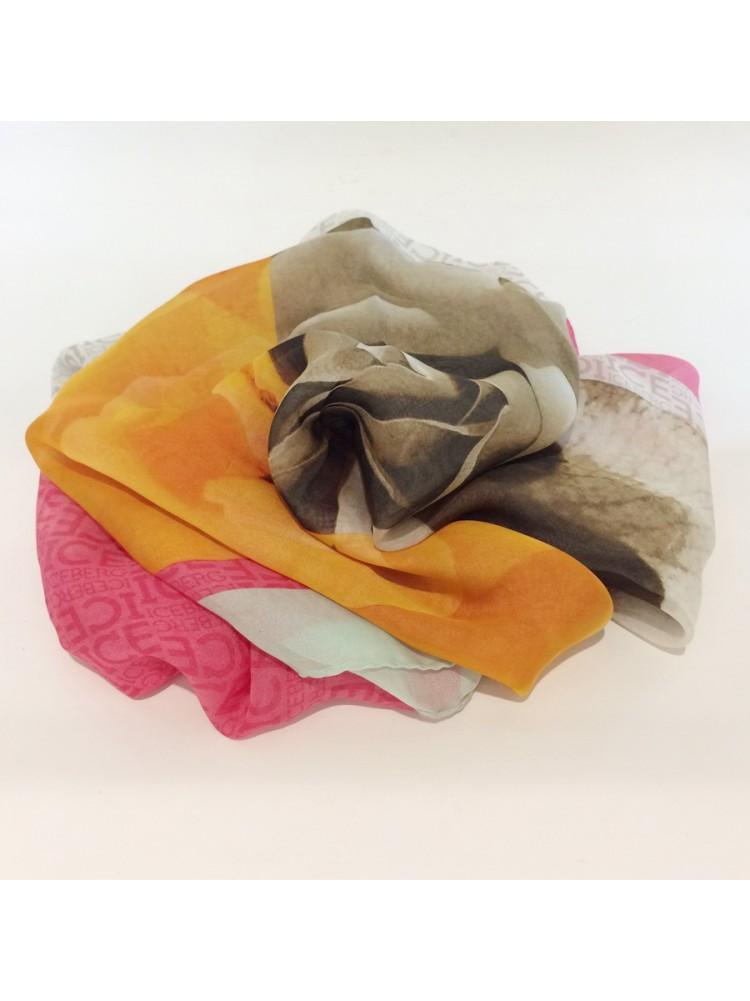 Палантин ICEBERG 4578 с рисунком розы, ограниченная серия