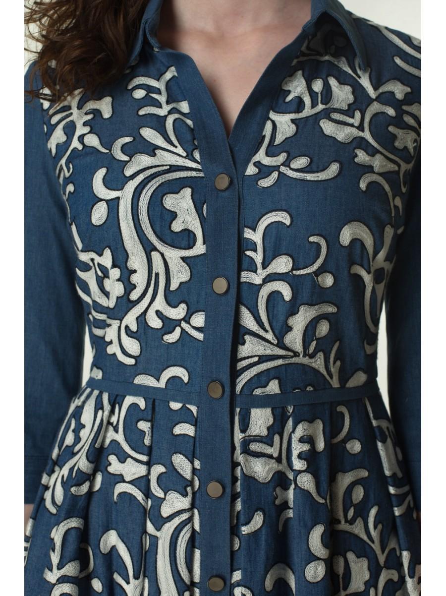 Платье из джинсовой ткани D&G