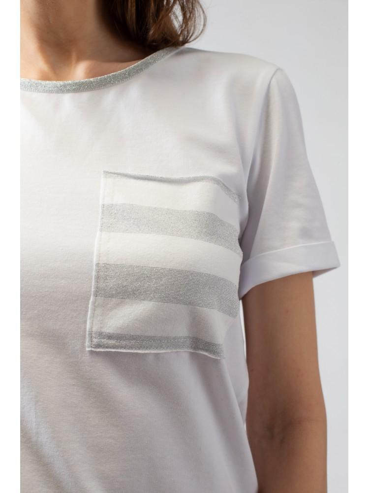 Блузка MARINAIO белого цвета