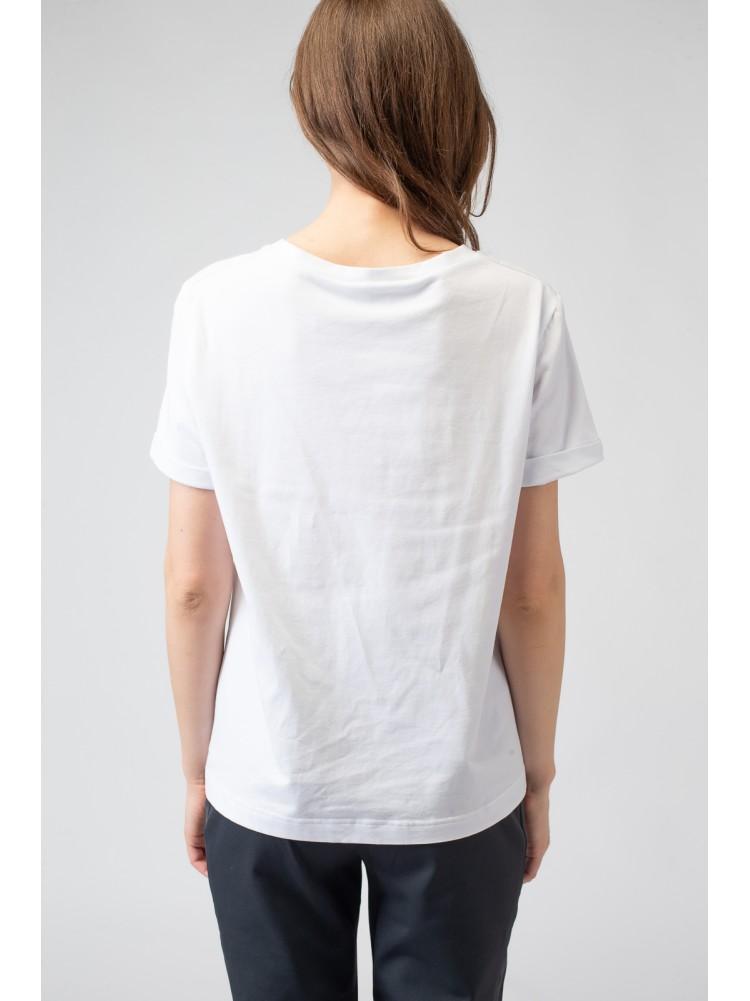 Блузка прямого силуэта CHANEL