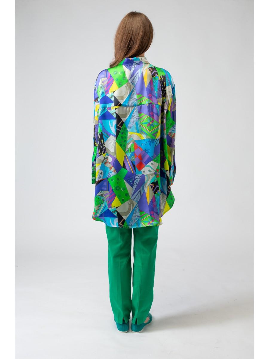 Платье-туника Pucci