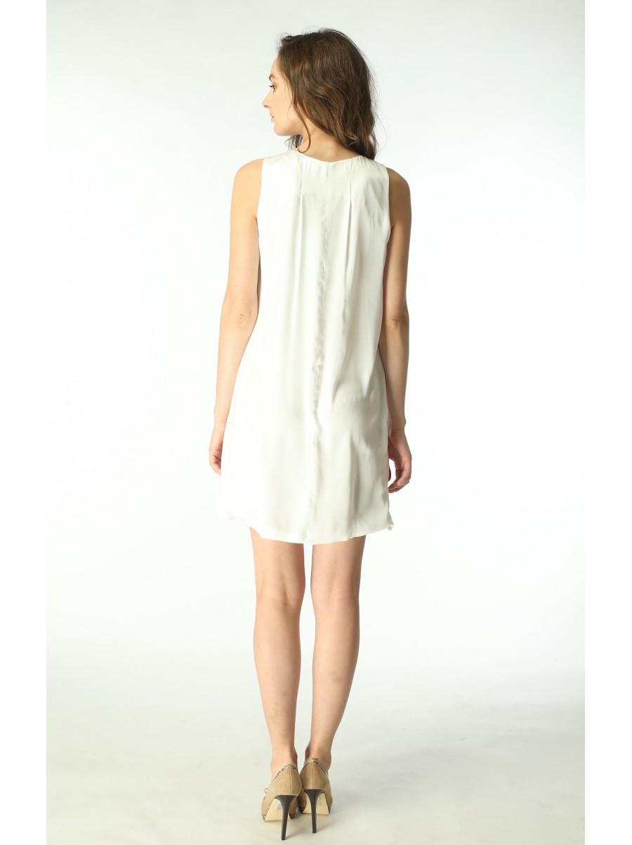 Платье ROCCOBAROCCO, белого цвета, 0110502
